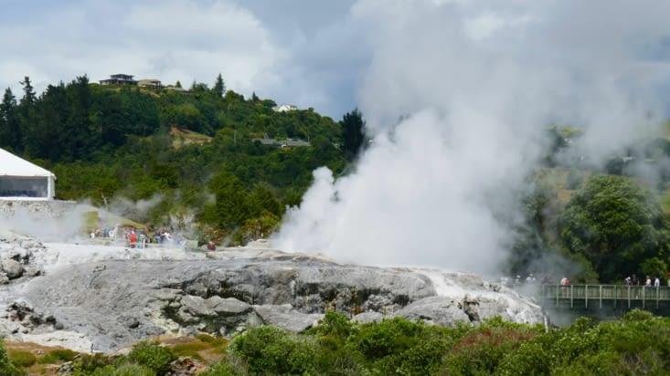 Des geysers