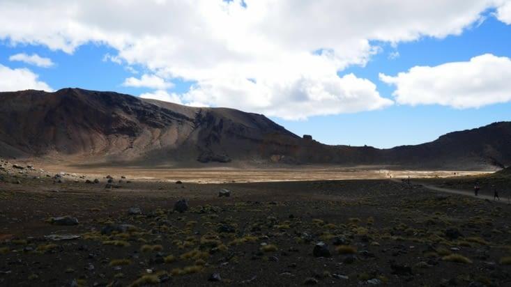 L'immense premier cratère: le cratère sud
