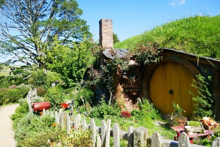 La maison de Sam, le fidèle compagnon de Frodon