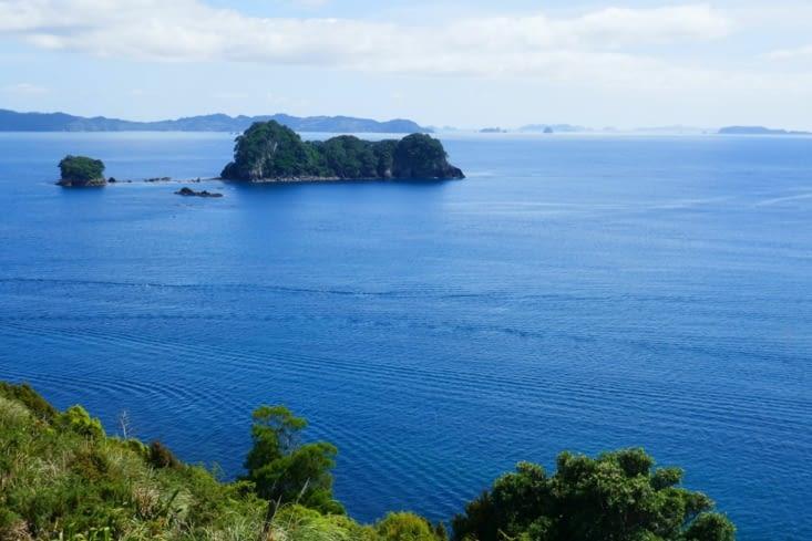 L'île où Napoléon fut emprisonné.