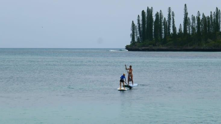 Le prince et la panthère en paddle