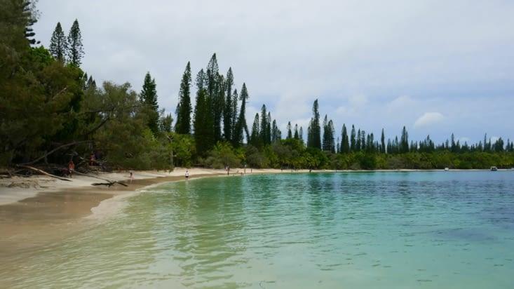 2ème plage ; la plage de Kanuméra. Tout simplement superbe