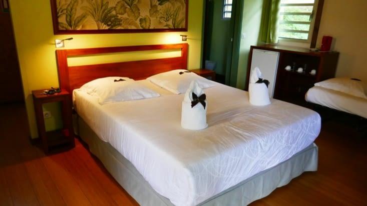 Notre super chambre tout confort à Hienghêne