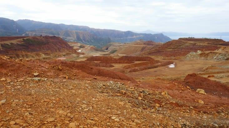 Une exploitation minière (nickel ) du côté de Kouaoua