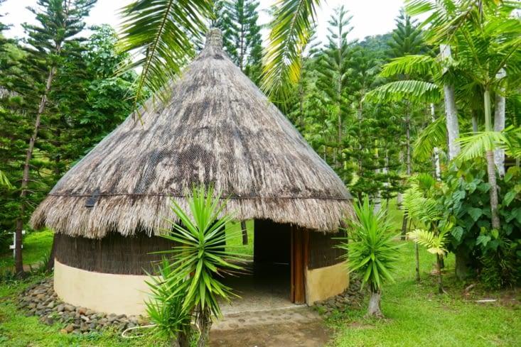 Voici notre jolie case à Sarraméa
