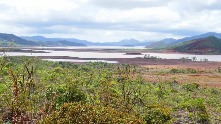 La plaine de la rivière blanche ( la bleue c'est après)