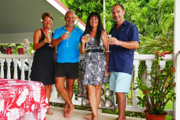 Champagne pour fêter les vacances