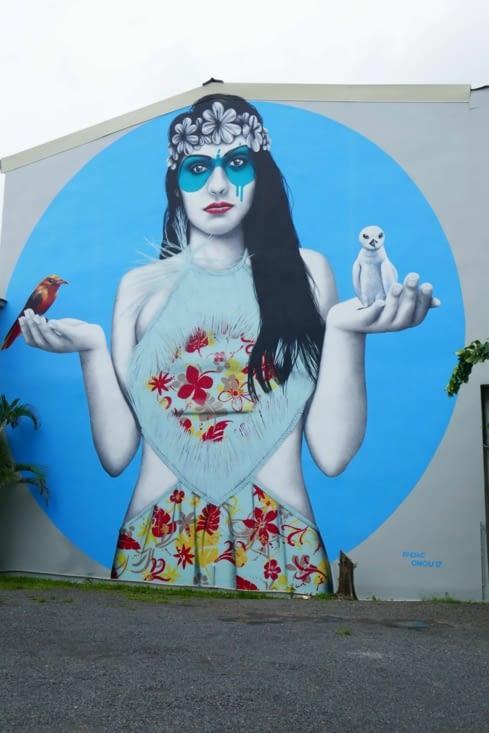 Une belle réalisation de street-art