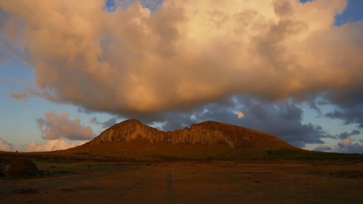 le volcan Rano Raraku