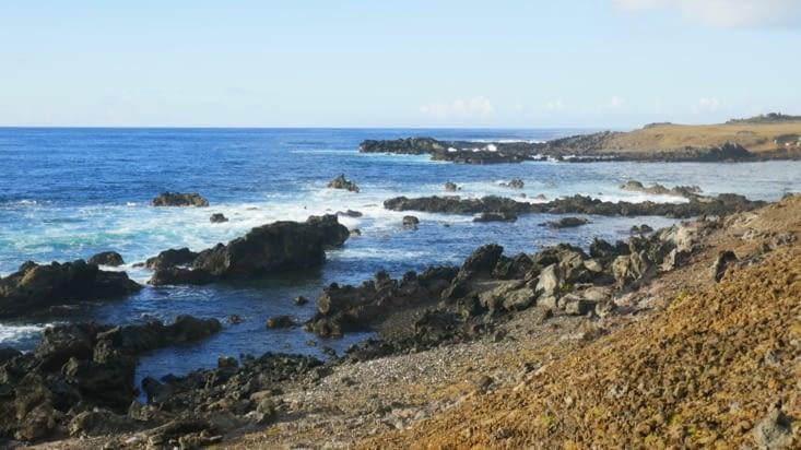 Le bleu du Pacifique (une  des plus belles couleurs naturelles ...)