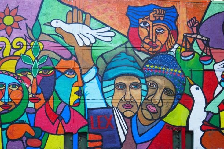 Street art Andin