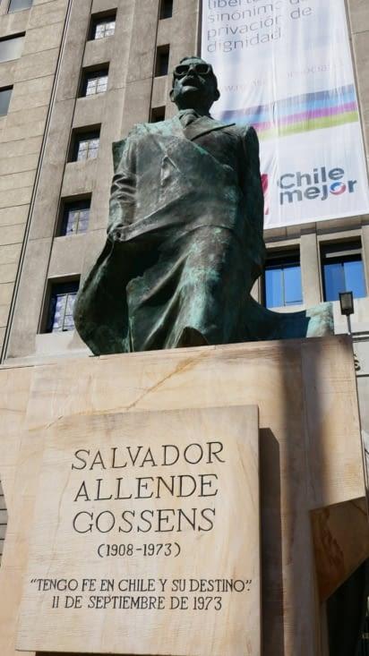 Le premier président socialiste du Chili du 3 novembre 1970 au 11 septembre 1973