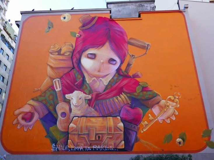 Un artiste très connu réalise des oeuvres engagées de street art