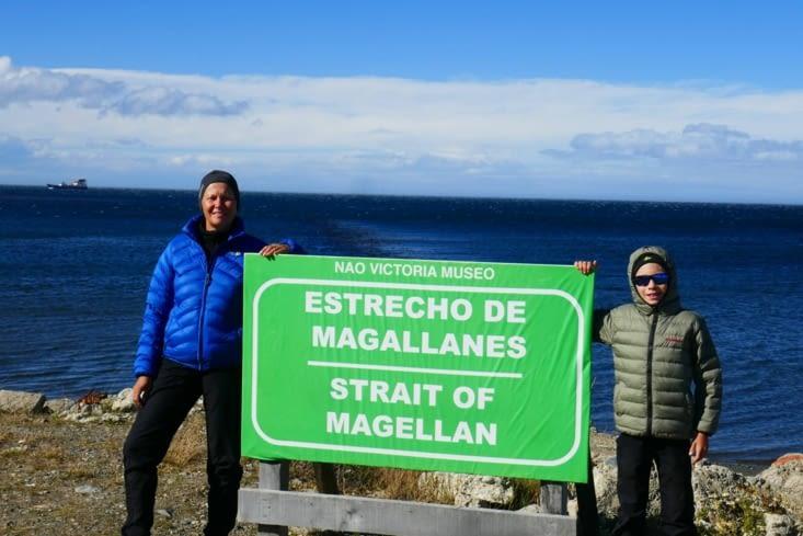 Nous voici au célèbre détroit de Magellan