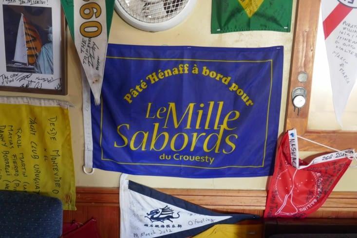 au yatch club de Puerto William