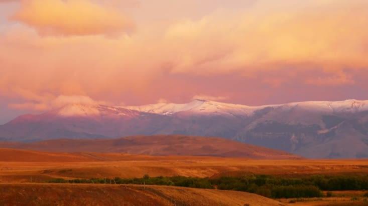 """Départ à l'aube pour le parc """"Torres del Paine"""""""