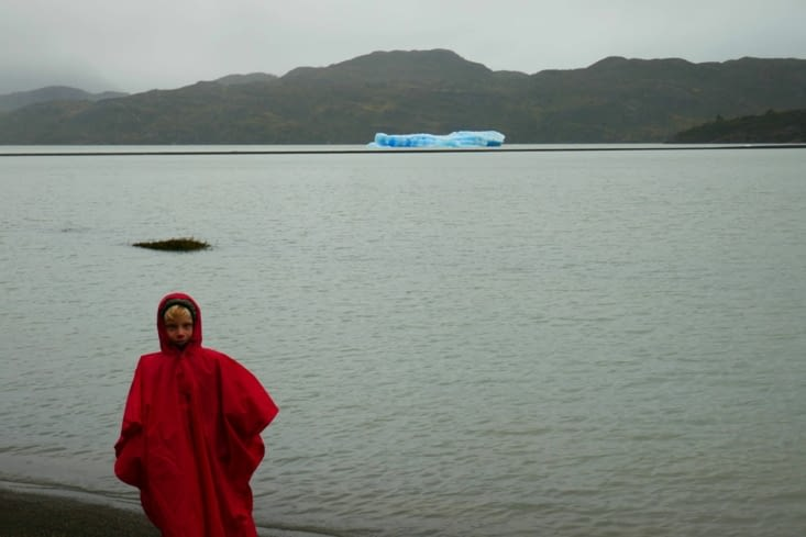 Balade vers le glacier Grey mais sous la pluie