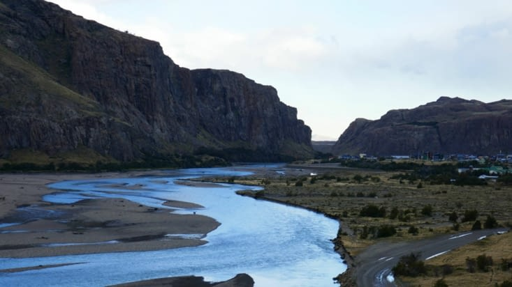 Ainsi que la rivière que nous avons longée