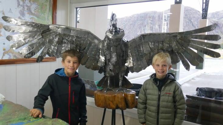 Loïs et Maël ont attrapé un condor