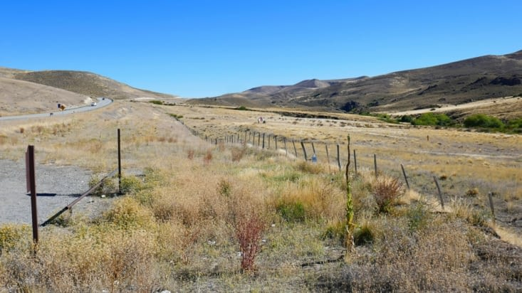 Des routes qui semblent se perdre dans la Pampa
