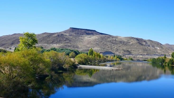 Heureusement, l'eau est très présente en Patagonie; Lacs, rivières. ..