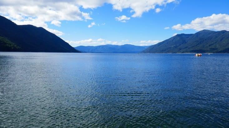 Le lac à Pucon