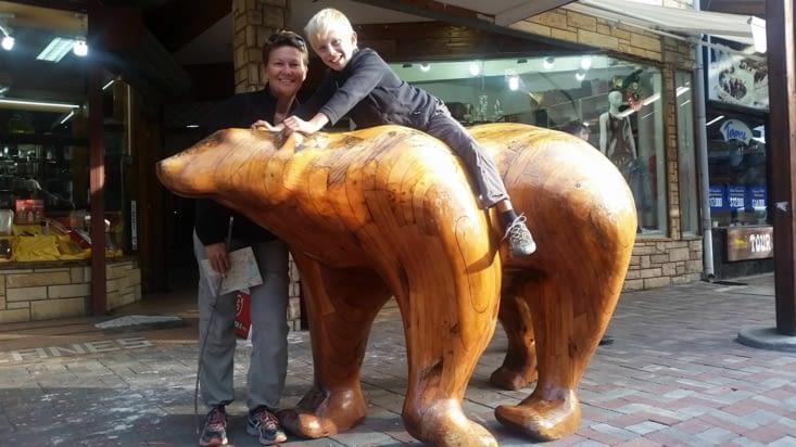 Un très gros doudou en bois