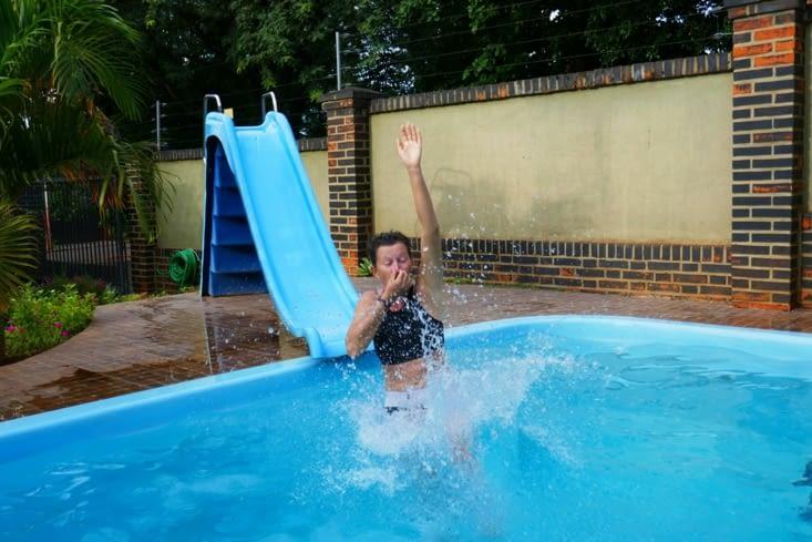 Essai en position de plongée