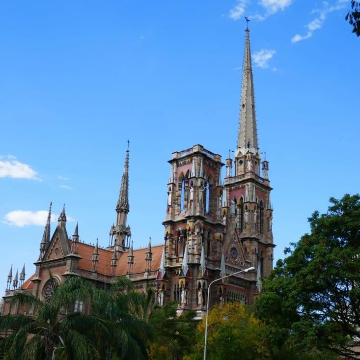 Il n'y a pas à dire, les Argentins savent y faire en belles églises et cathédrales...
