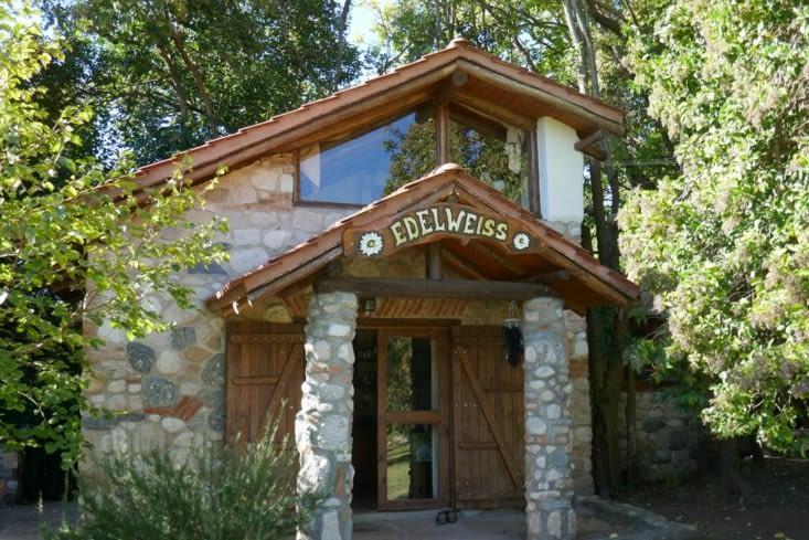 Et voici notre chez nous pour notre petite retraite d'une semaine