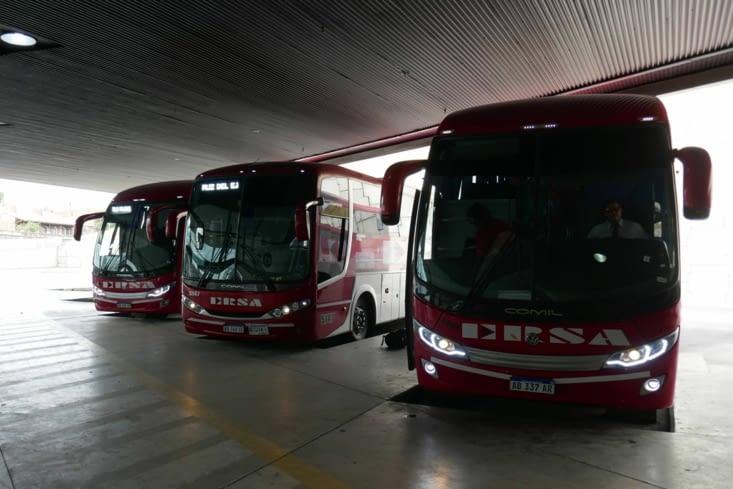 les bus en Argentine n'ont rien n'a voir avec les bus en Asie