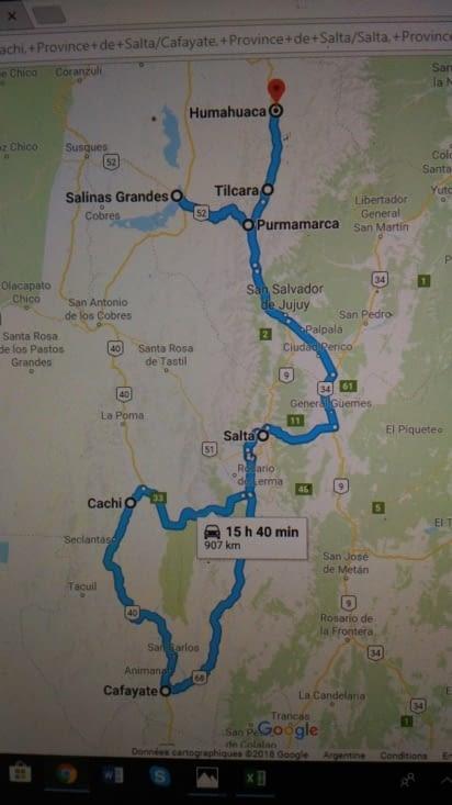 Notre road trip sur 8 jours