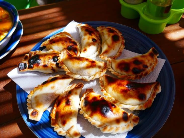 Les traditionnels empanadas