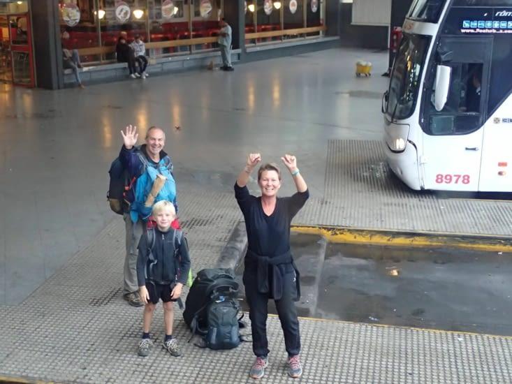 Au revoir les amis, RDV à Salta demain matin !