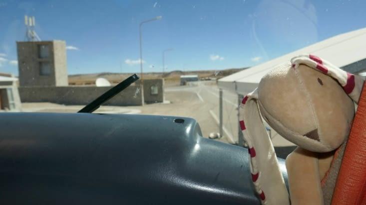 doudou à la frontière Argentine / Chili