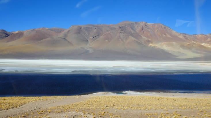 Là, l'eau et le sel font dancer de nouvelles images avec des touches de vert