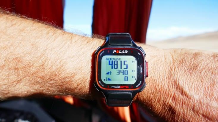 Pour couronner le tout, nous montons plus haut que le Mont Blanc qui est à 4810 M.