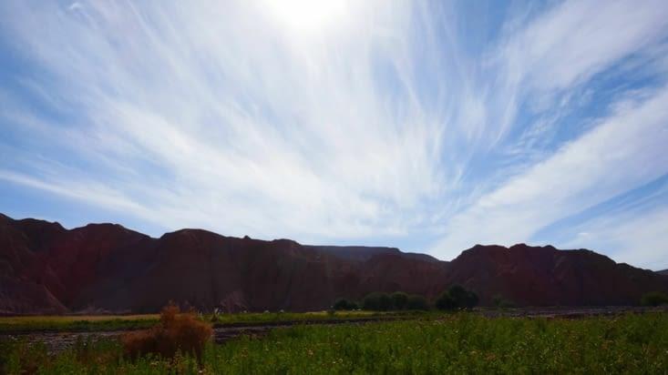 Est ce le ciel ou la montagne que nous voulions photographier ?