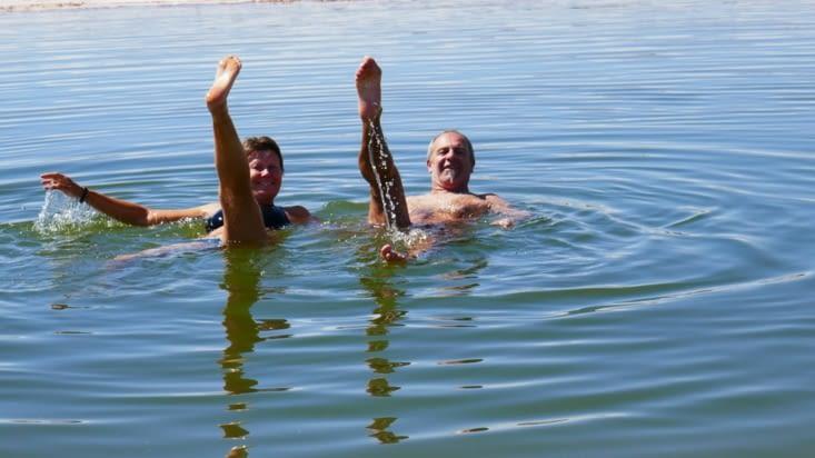 Allez hop un petit ballet aquatique. Trop facile !