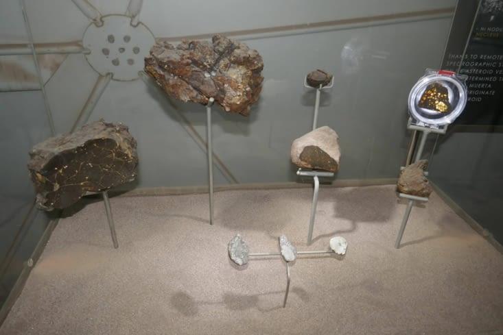 Des météorites trouvés dans le désert