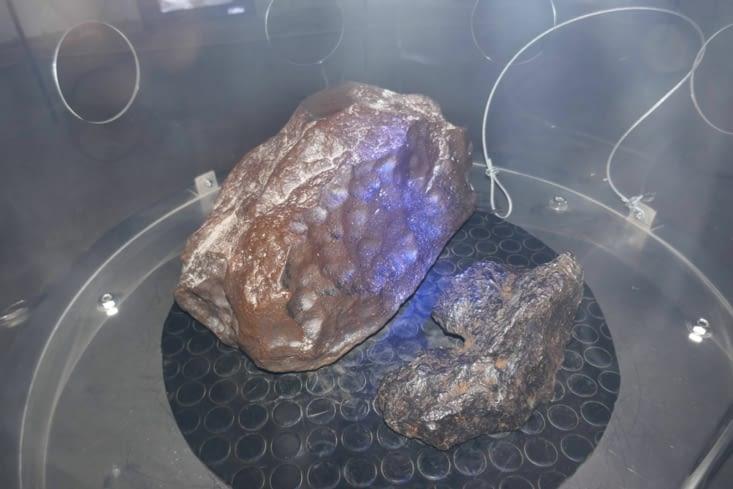 Des exercices pratiques sont là pour savoir reconnaître une météorite