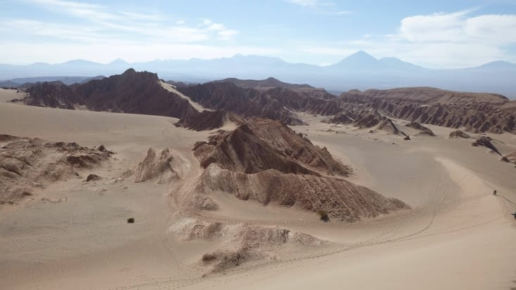 """Un petit aperçu de la vallée de Mars appelée aussi """"vallée de la mort"""""""