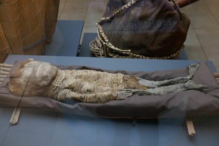 De petits enfants étaient momifiés aussi