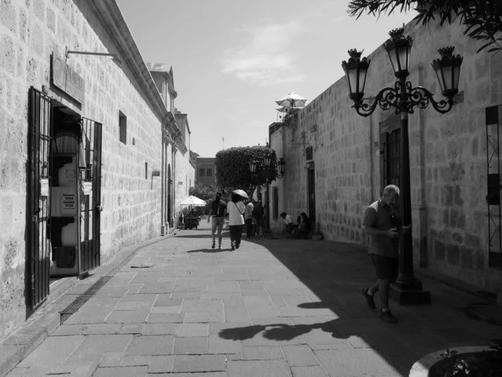 Une des rares rues piétonnes