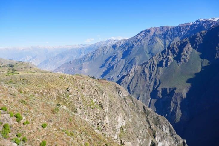 Autre vue sur le canyon