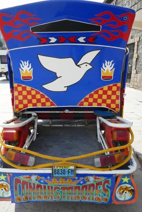 Un tuktuk de conquistador !