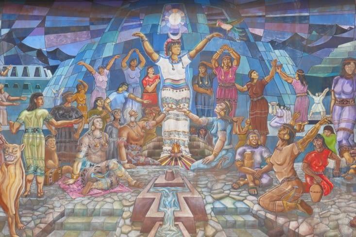 Encore une jolie fresque murale