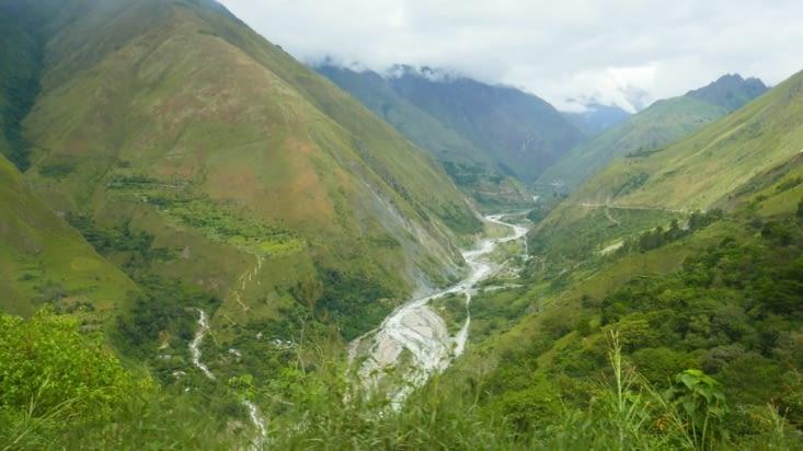 Les beaux paysages dont nous ne profitons pas pleinement tellement nous sommes secoués