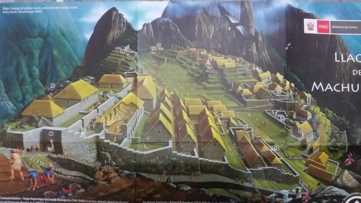 Une image montrant comment était le secteur urbain de la cité