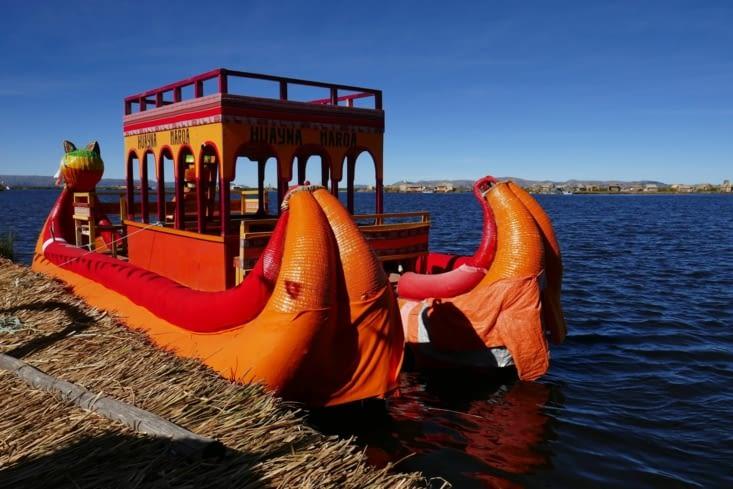 le redoutable drakkar du lac Titicaca